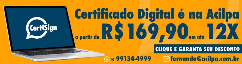 Certificado Digital - 16/agosto/2021