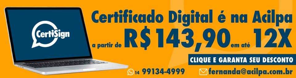 Certificado Digital 7/outubro
