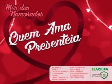 Usando o site compreemlencois.com.br, ACILPA promove campanha do Dia dos Namorados