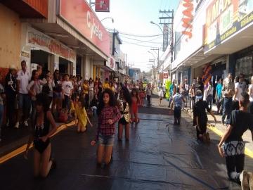 Acilpa interdita rua 15 de Novembro para ação do Mês das Mães