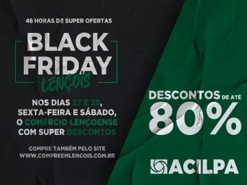 COMÉRCIO LENÇOENSE ORGANIZA A BLACK FRIDAY 2020