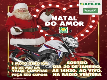 Com foco na recuperação do comércio, Acilpa lança campanha Natal do Amor
