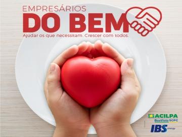 Acilpa e IBS Energy se unem em campanha solidária