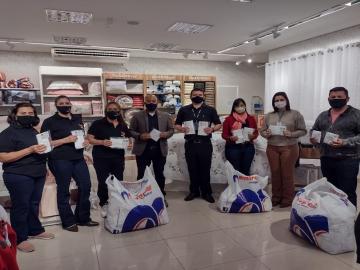 Por intermédio da Acilpa, entidades lençoenses recebem mais de 4 mil máscaras