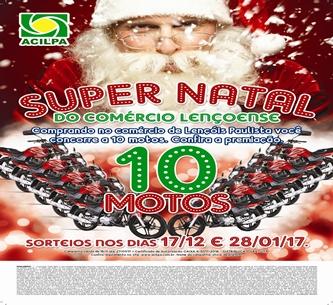 Campanha Super Natal ACILPA