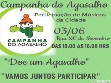 Campanha do Agasalho - Músicos da Cidade