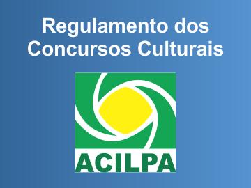 Regulamentos dos Concursos Culturais